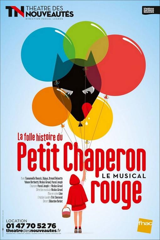 Envolez-vous en famille au Théâtre des Nouveautés voir le petit Chaperon Rouge !