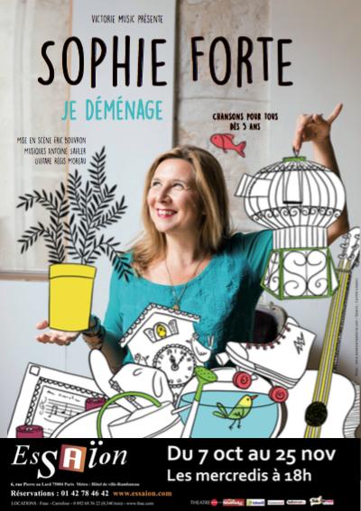 Pour en savour plus sur les trois spectacles de Sophie Forte !