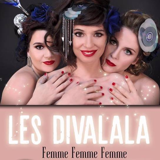 Rattrapez votre Saint Valentin dès lundi prochain en applaudissant les Divalala au Trévise !