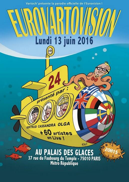 Embarquez vous aussi dans la sous-marin de l'Eurovartovision en cliquant ici !