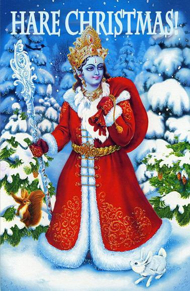 Ils auraient pu prendre Shiva, il aurait distr_bué les cadeaux plus vite !