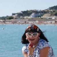 Petit coucou de Martine Superstar depuis la plage d'I-Bizac...quelquepart en Baie de Somme