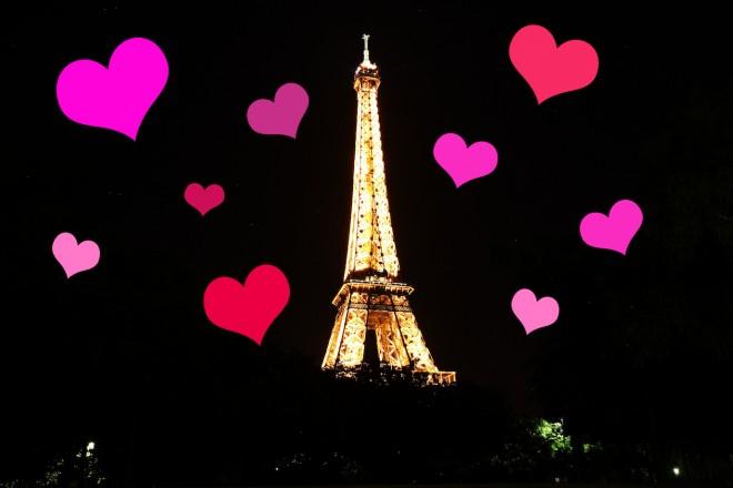 Un bombardement...d'amour et de kitsch sur Paris !